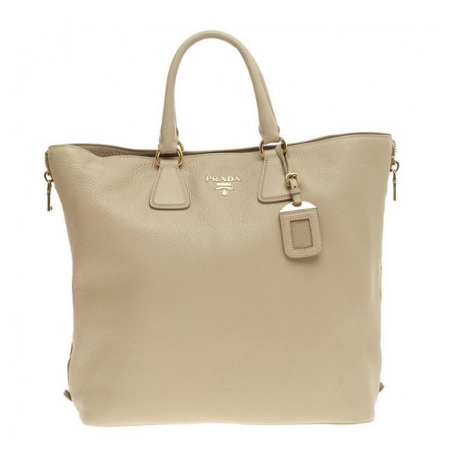 1b1564a88f0515 Prada: Vitello Daino Tote — ArmGem - Rent Designer Handbags Online