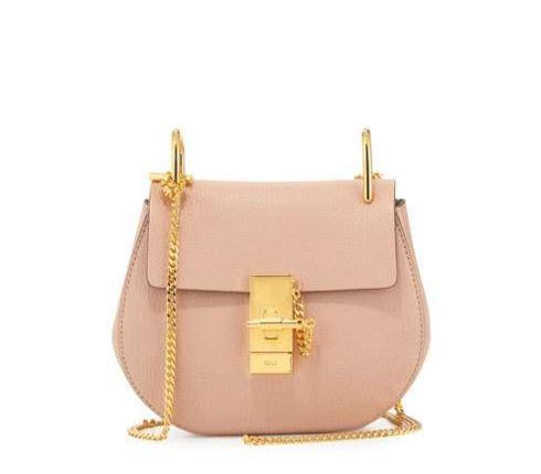 Chloé  Drew Lambskin Shoulder Bag — ArmGem - Rent Designer Handbags Online bbef167f0ffc7