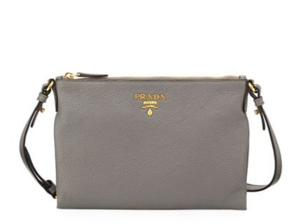 134c4a1058cb Prada  Vitello Daino Pouch Crossbody — ArmGem - Rent Designer Handbags  Online
