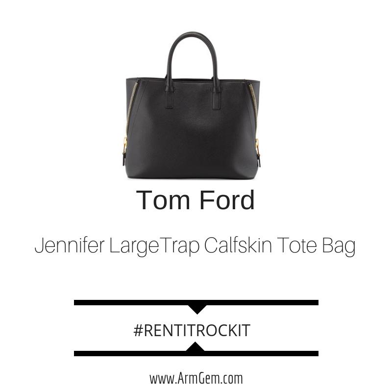 Tom Ford Jennifer LargeTrap Calfskin Tote Bag.png