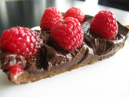 chocoholic vegan tart_hot for food