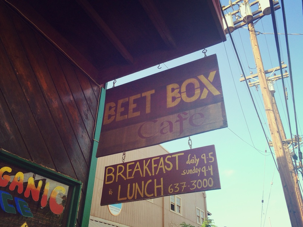 the beet box cafe - 66-443 kamehameha hwy (enter through celestial natural foods), haleiwa