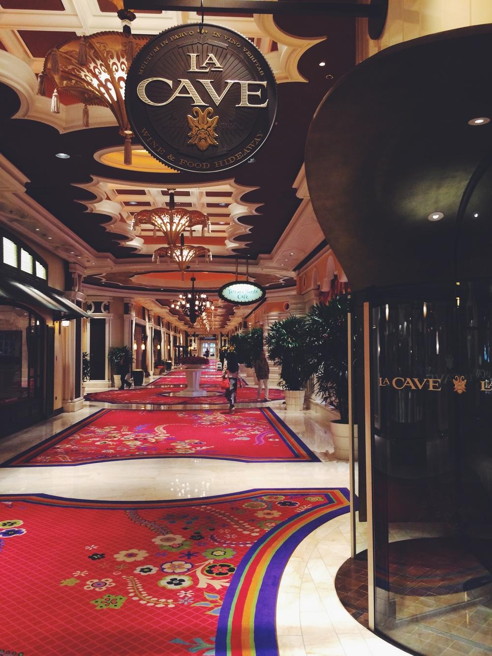 la cave - wynn hotel, las vegas strip