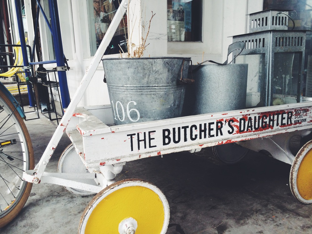 the butcher's daughter - 19 kenmare st., new york