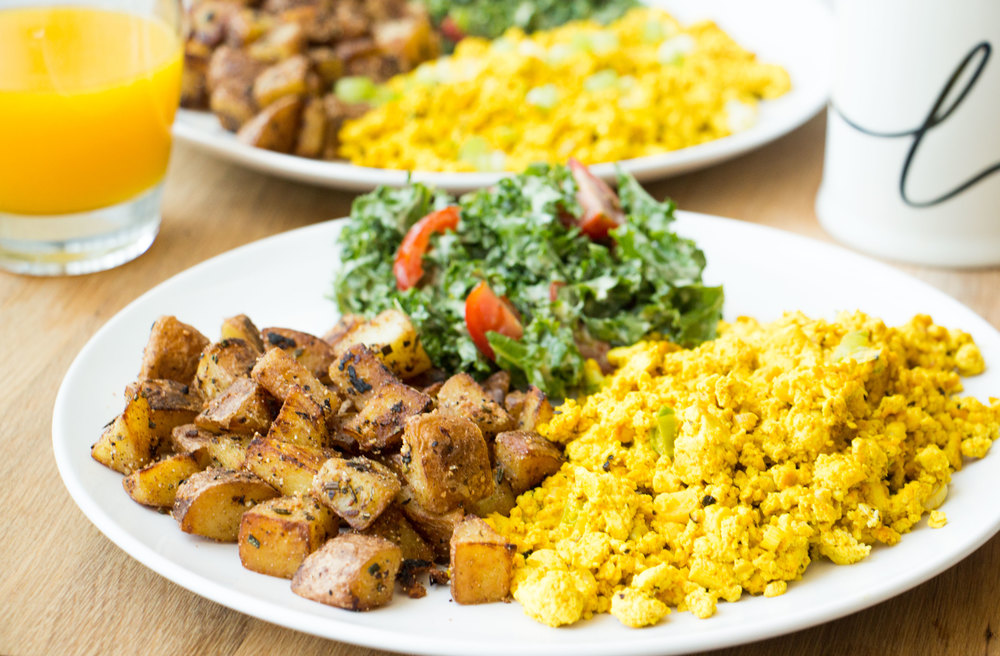the perfect tofu scramble_hot for food