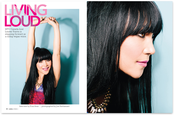 Lauren Toyota and hot for food blog featured in Laika Magazine