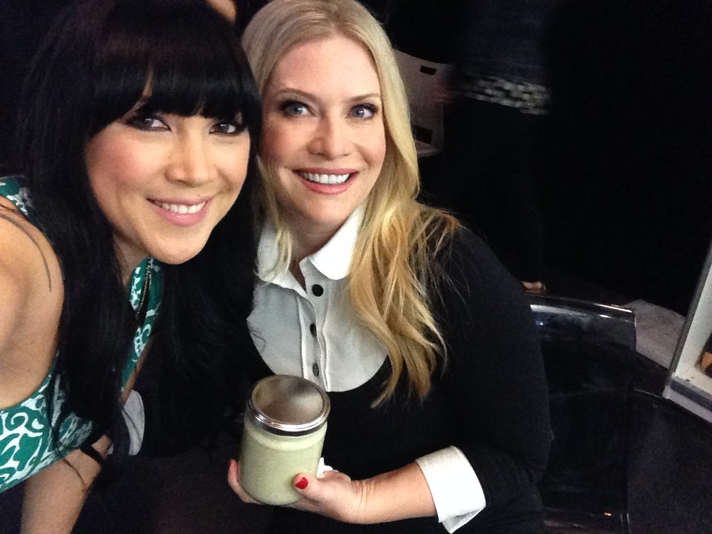 Actress Emily Procter with Lauren Toyota on The Social (CTV)