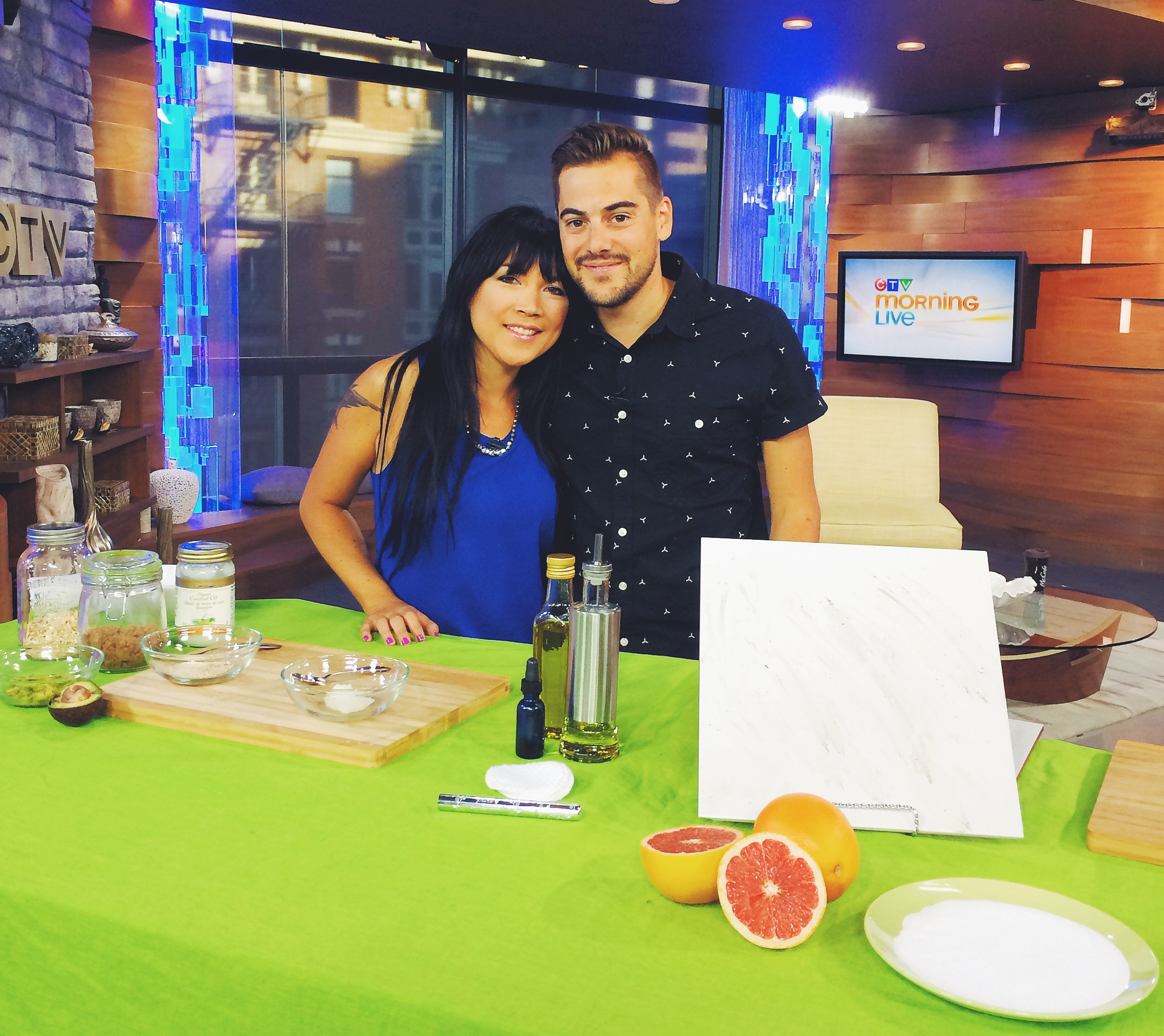 DIY home and beauty tips on CTV Morning Live in Vancouver