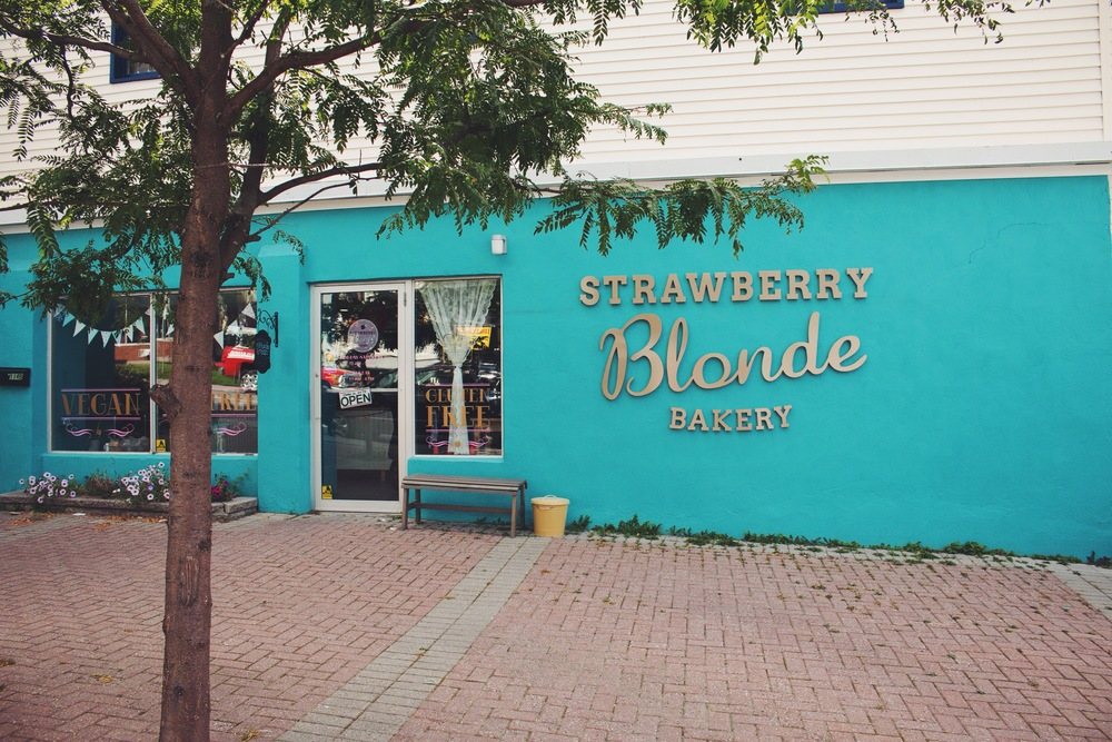 strawberry blonde bakery - 114B grange ave., ottawa