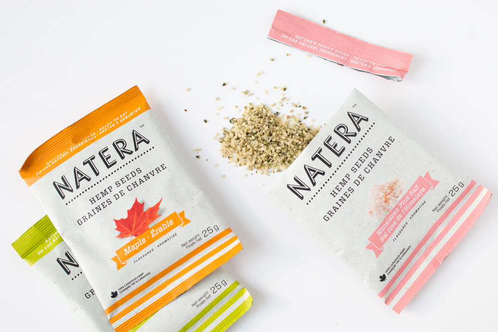 natera flavoured hemp hearts - 2014 CHFA East | more snack reviews at hotforfoodblog.com