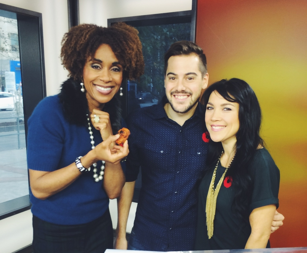 Rosey Edeh, host of The Morning Show on Global Television in Toronto