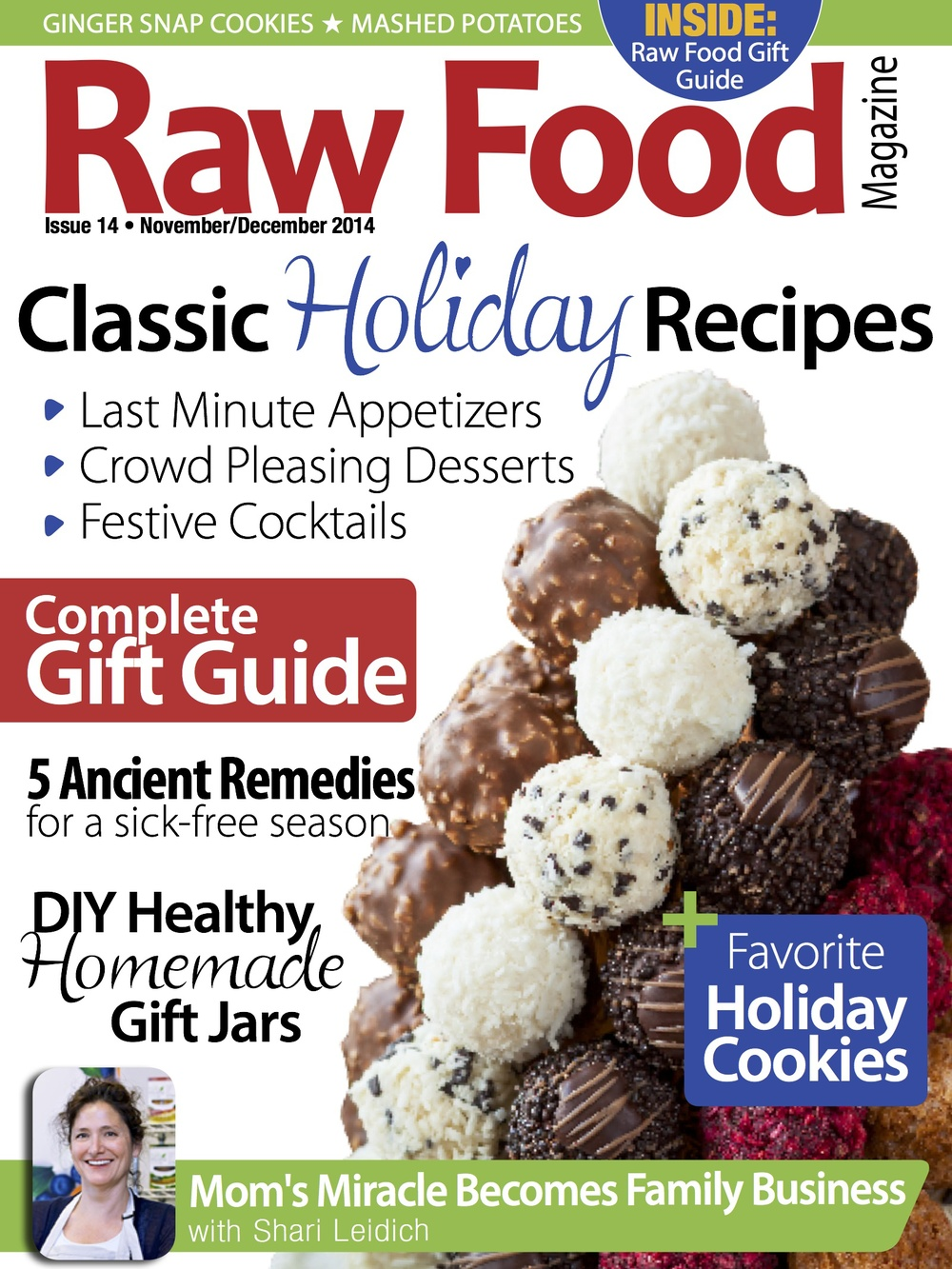 hot for food blog in issue 14 of raw food magazine
