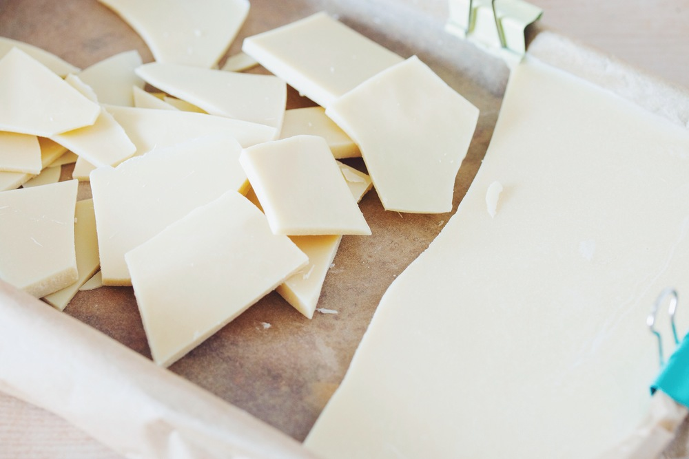 how to make #vegan white chocolate | RECIPE on hotforfoodblog.com