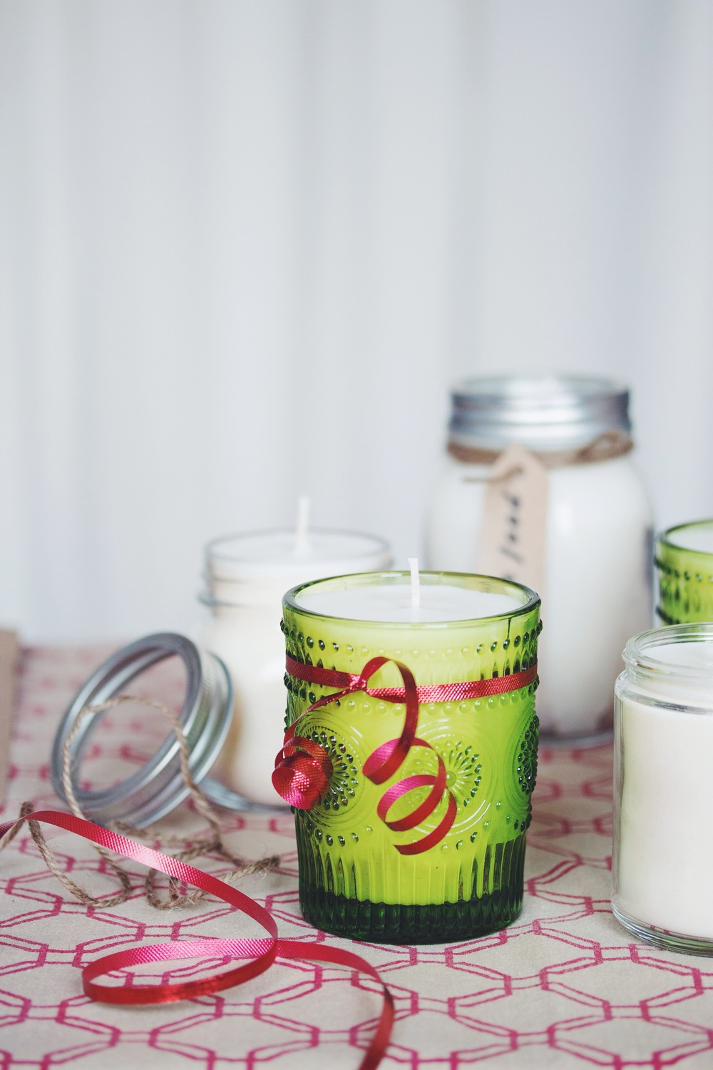 vanilla scented soy candles_hot for food