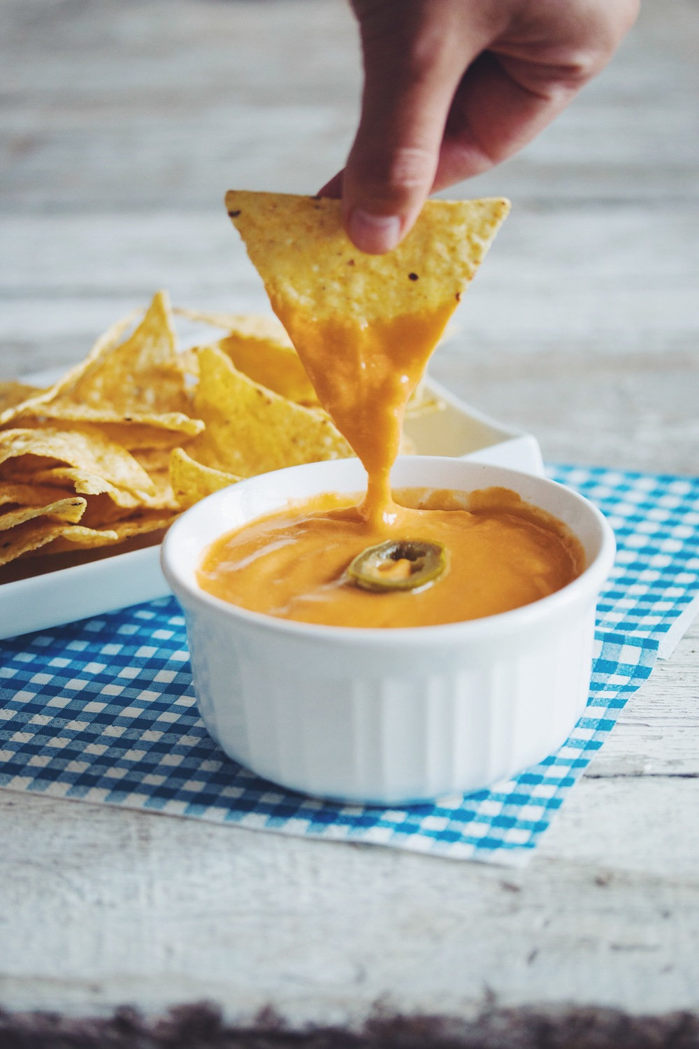 hot for food nacho cheese