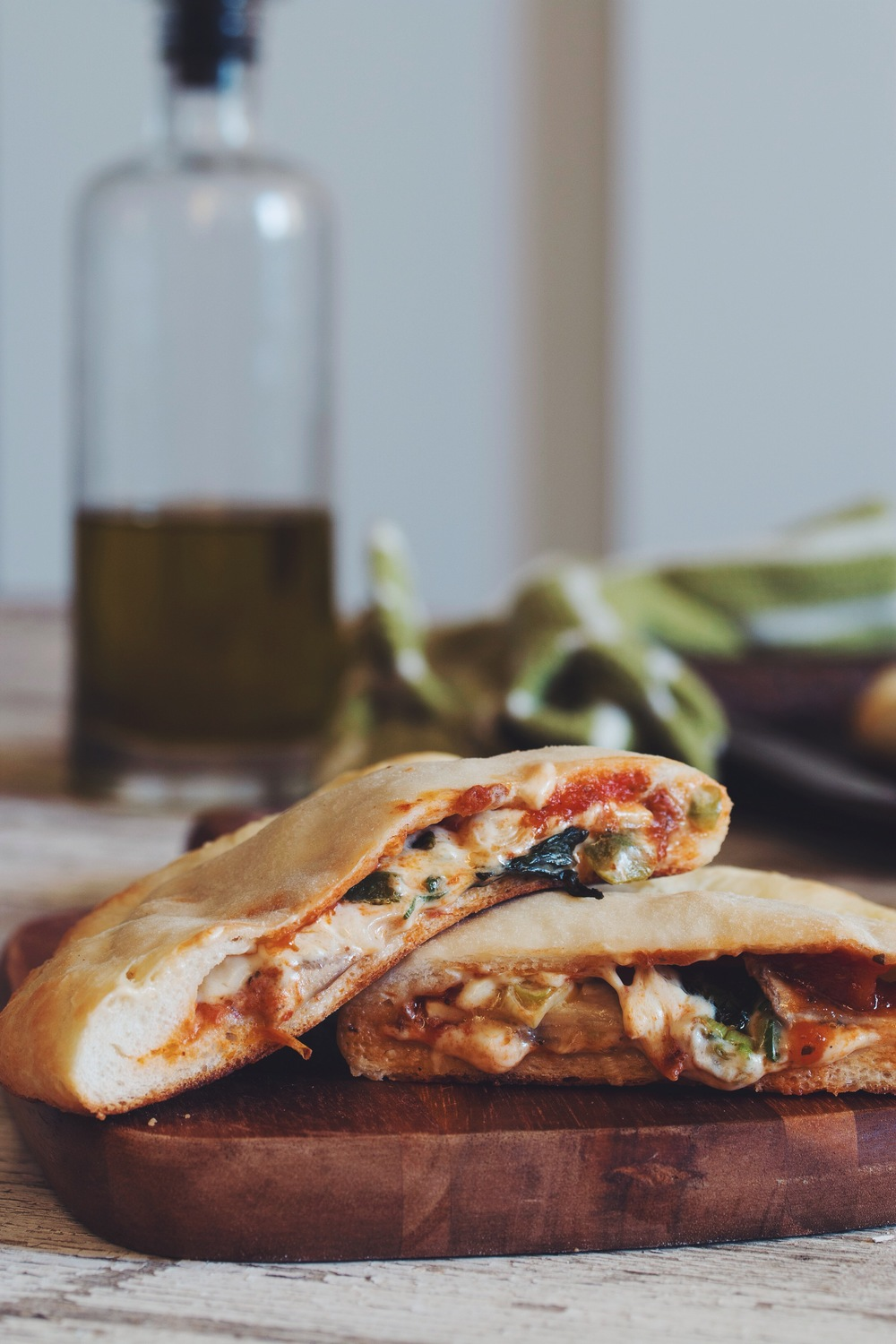 #vegan pizza pockets | RECIPE on hotforfoodblog.com