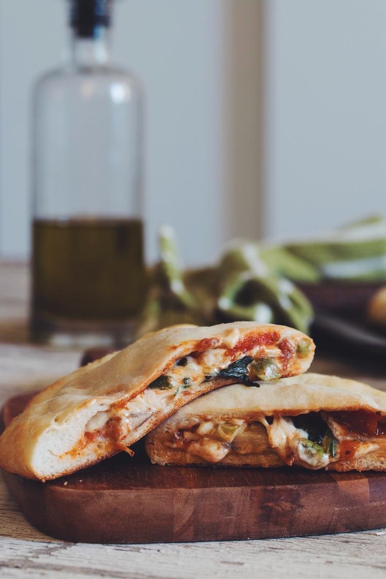 Pizza pockets hot for food vegan pizza pockets recipe on hotforfoodblog forumfinder Choice Image