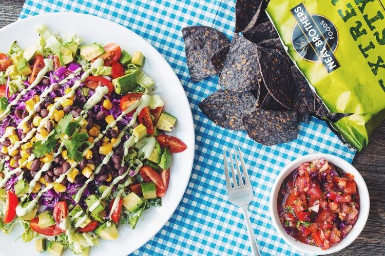 The big taco salad hot for food the big taco salad vegan glutenfree recipe on hotforfoodblog forumfinder Gallery