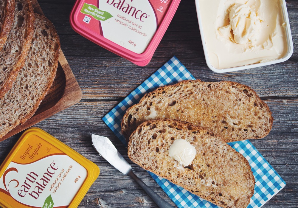 earth balance buttery spread | 10 vegan essentials on hotforfoodblog.com