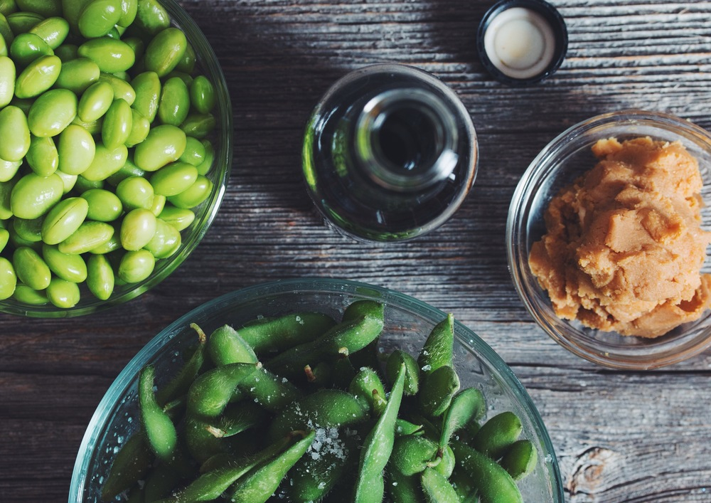 whole fermented soy foods | 10 vegan essentials on hotforfoodblog.com
