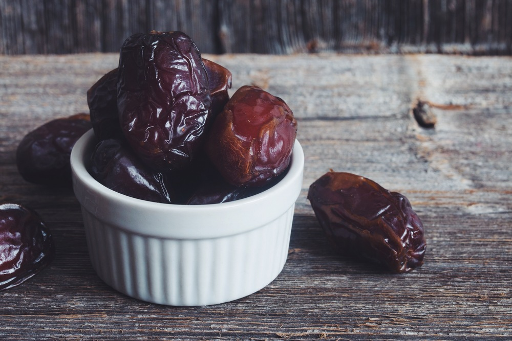 medjool dates | 10 vegan essentials on hotforfoodblog.com