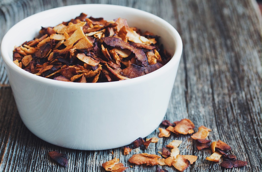 coconut bacon #vegan #glutenfree | RECIPE on hotforfoodblog.com