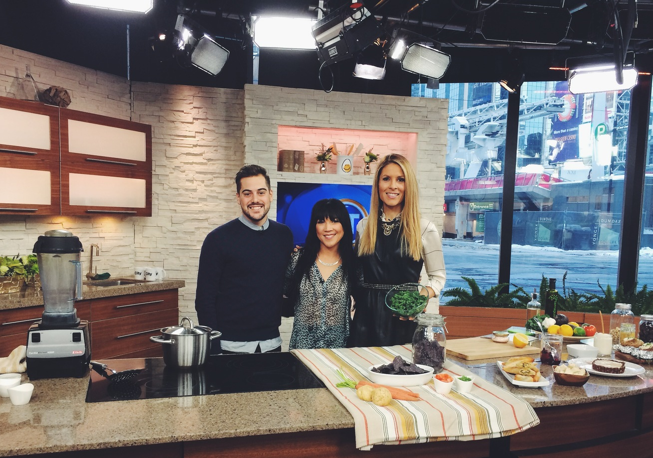 Dina Pugliese, host ofBreakfast Television onCityTV Toronto