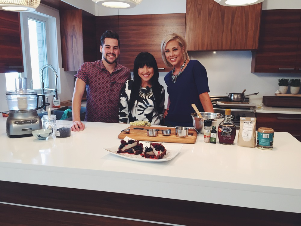 Rita Catolino, host of Your Beauty Fuel on Rogers TV London