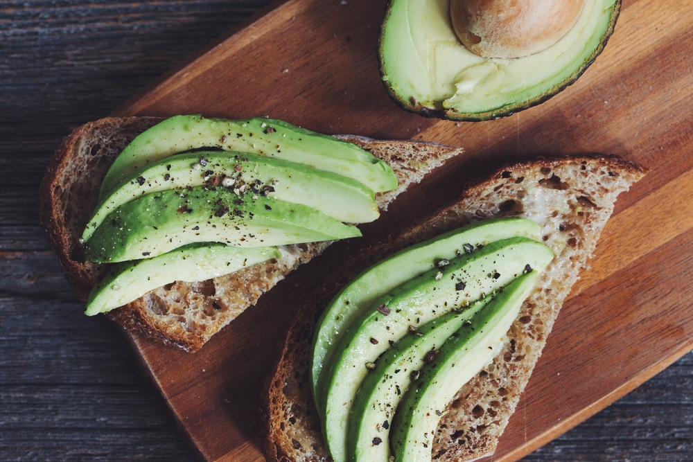 avocado on toast | RECIPE on hotforfoodblog.com