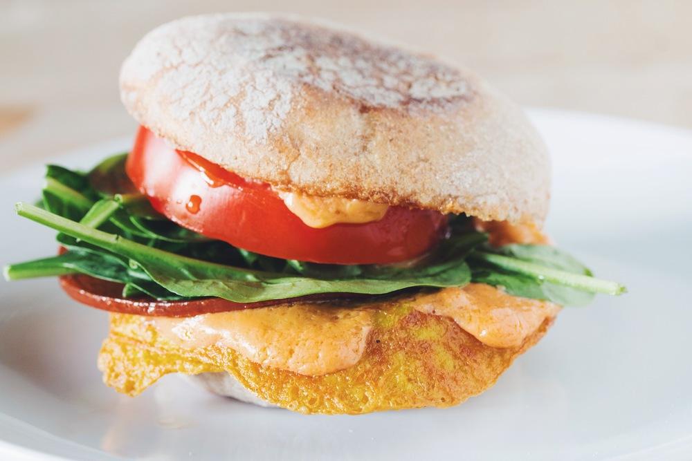 The Vegan Breakfast Sandwich