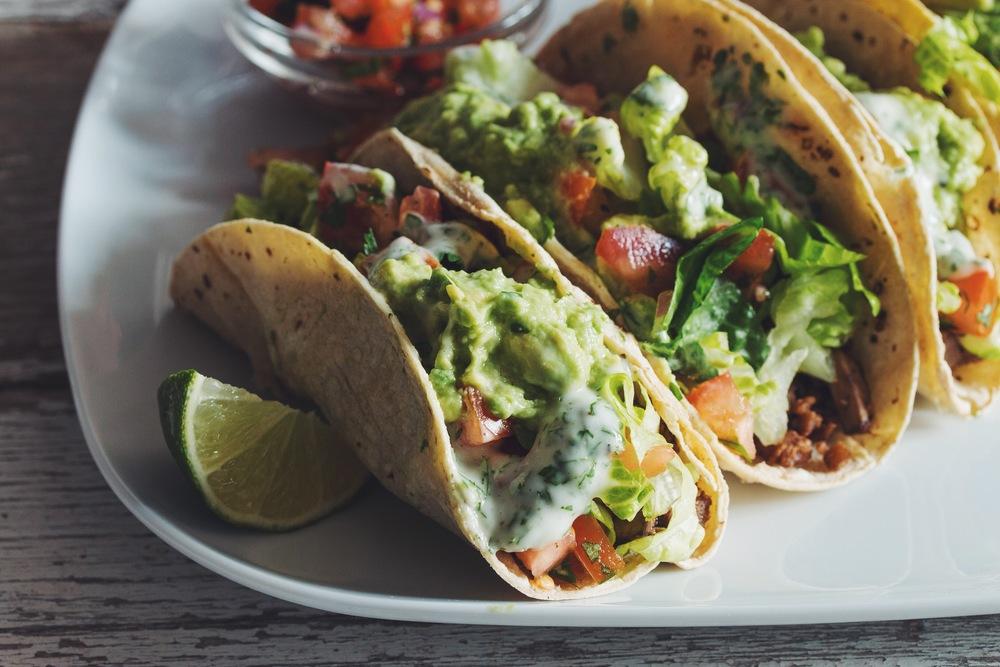 easy #vegan tacos | RECIPE on hotforfoodblog.com