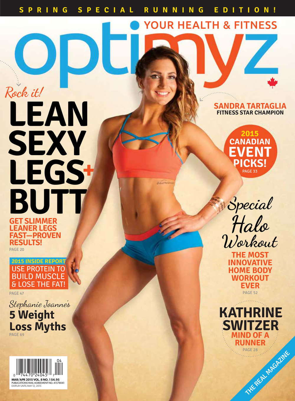 optimyz magazine march/april 2015 issue