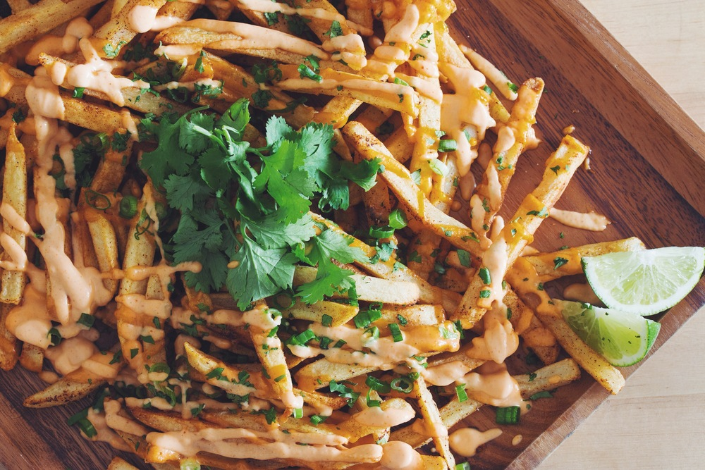 chipotle lime fries #Modifry #vegan | RECIPE on hotforfoodblog.com