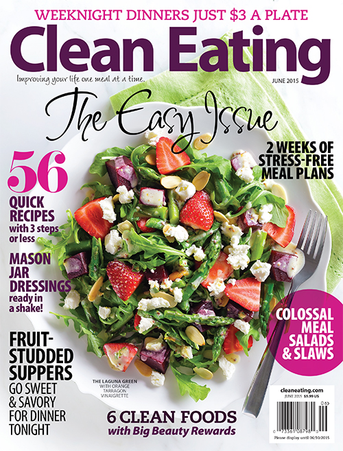 Clean Eating Magazine June Issue feat. hot for food! | hotforfoodblog.com