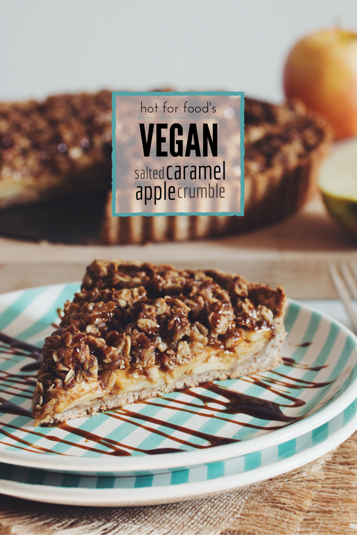 salted caramel apple crumble tart_hot for food