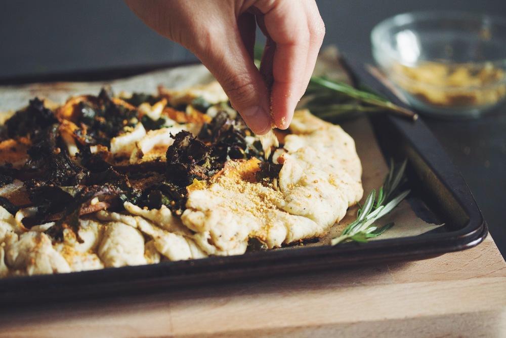 vegan pistachio parmesan | RECIPE on hotforfoodblog.com