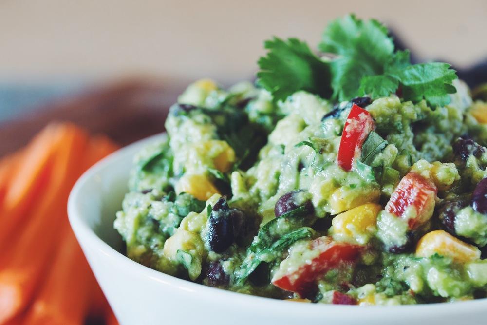 super guacamole #vegan | RECIPE on hotforfoodblog.com