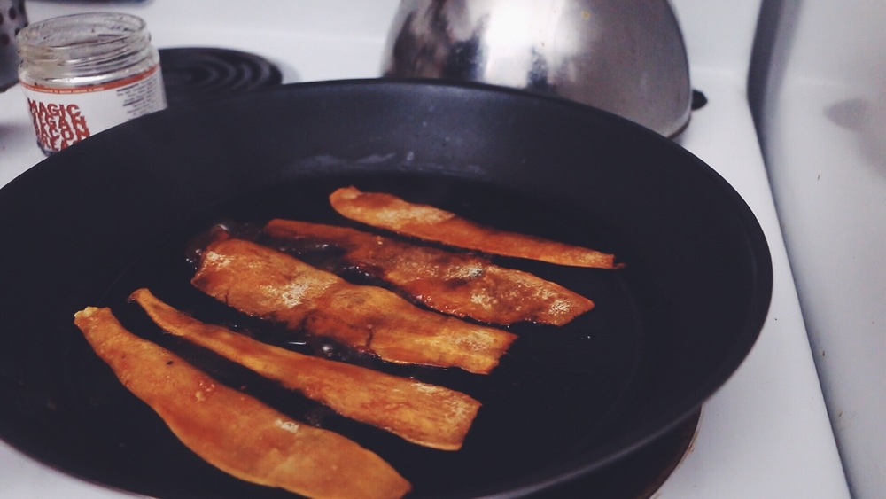 vegan cassava bacon | RECIPE by hot for food