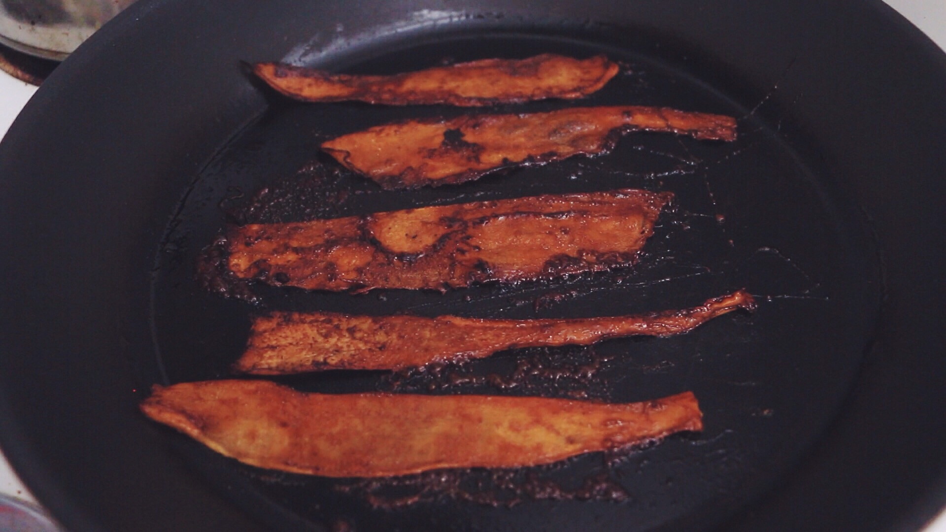 cassava bacon_hot for food