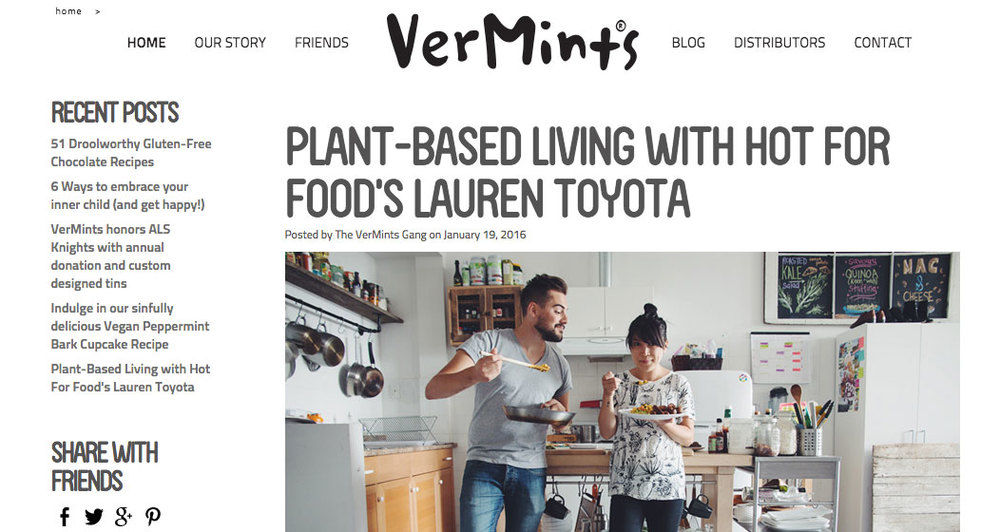 vermints & hot for food