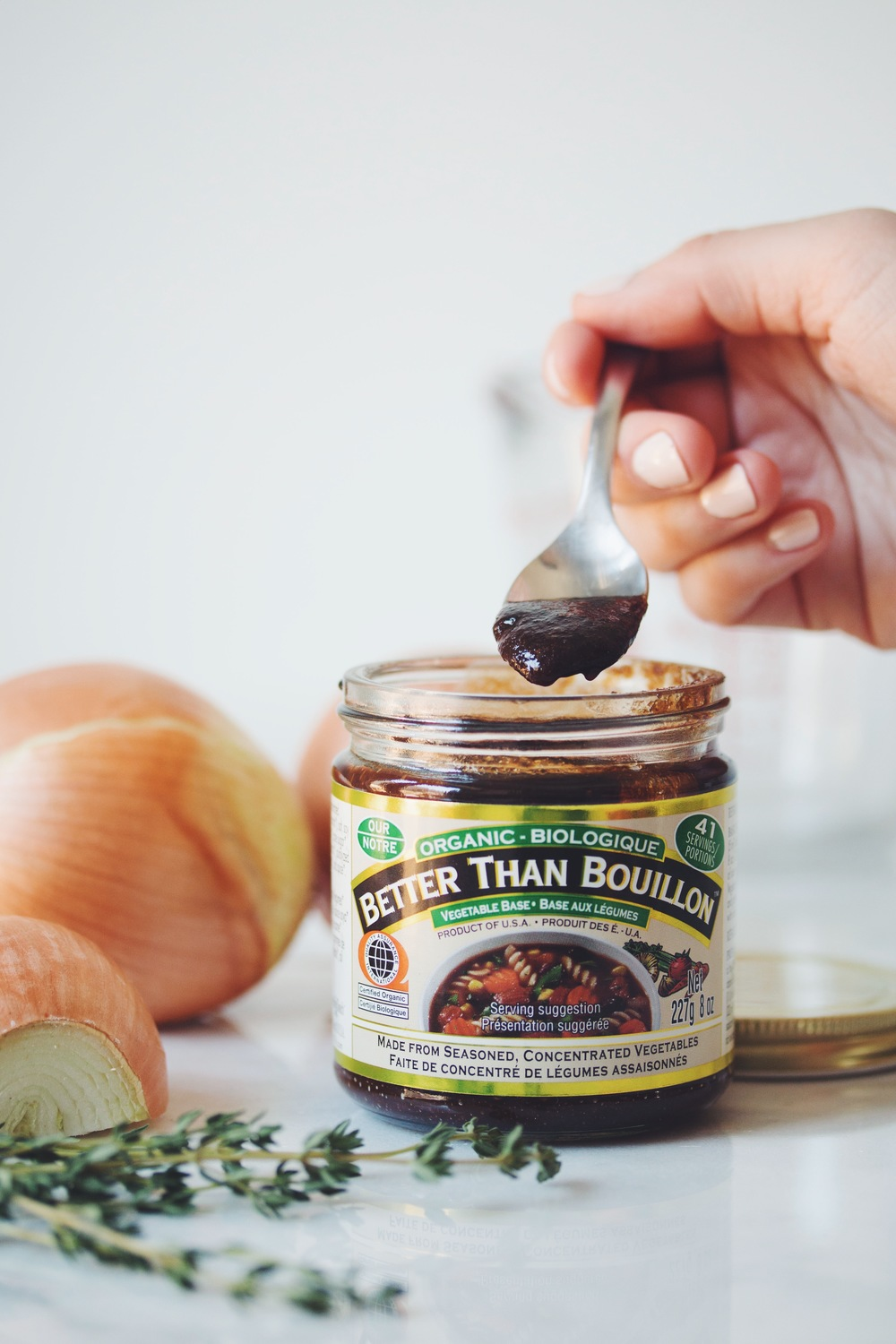 recipes with Better Than Bouillon | hot for food's vegan caramelized onion dip