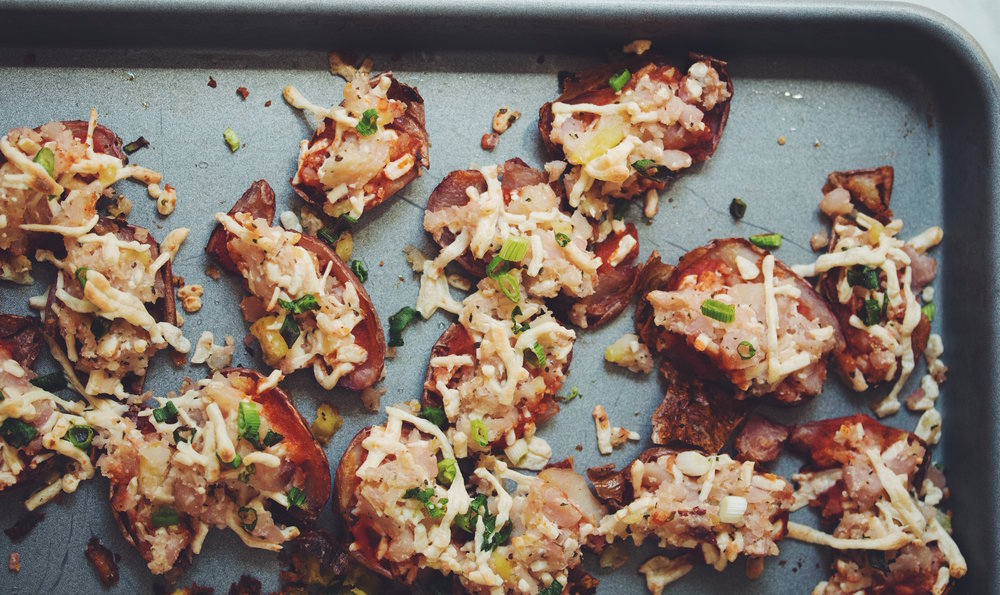 vegan potato pizza skins_hot for food