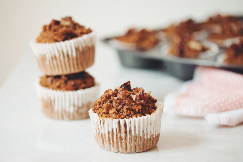 vegan pumpkin spice muffins_hot for food
