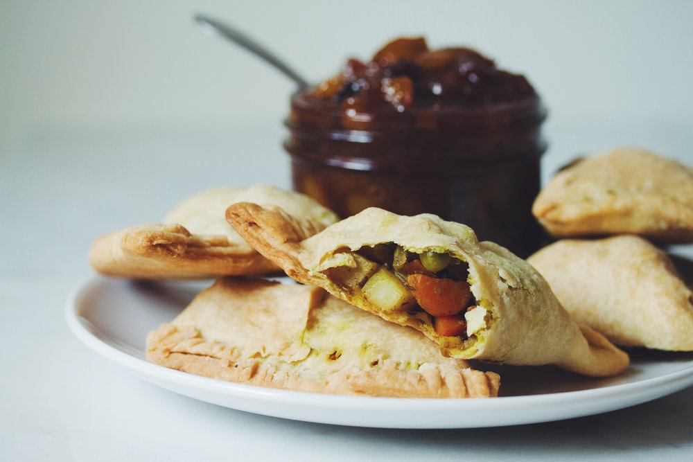 vegan samosas | RECIPE on hotforfoodblog.com