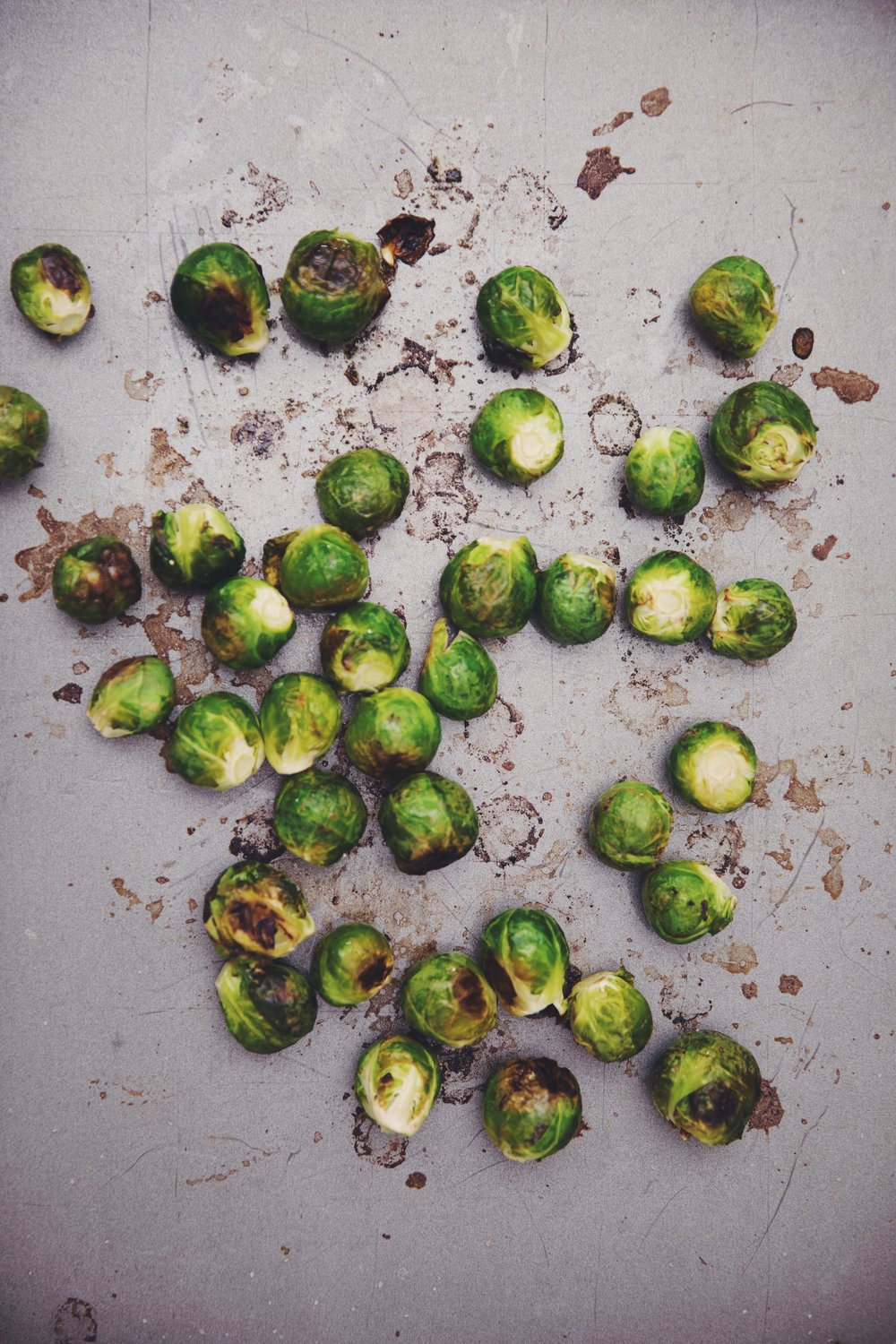 deep fried brussels sprouts | RECIPE on hotforfoodblog.com