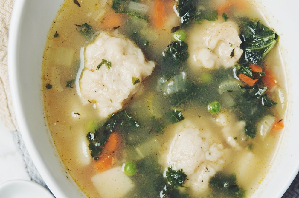 vegetable dumpling soup | RECIPE by hot for food