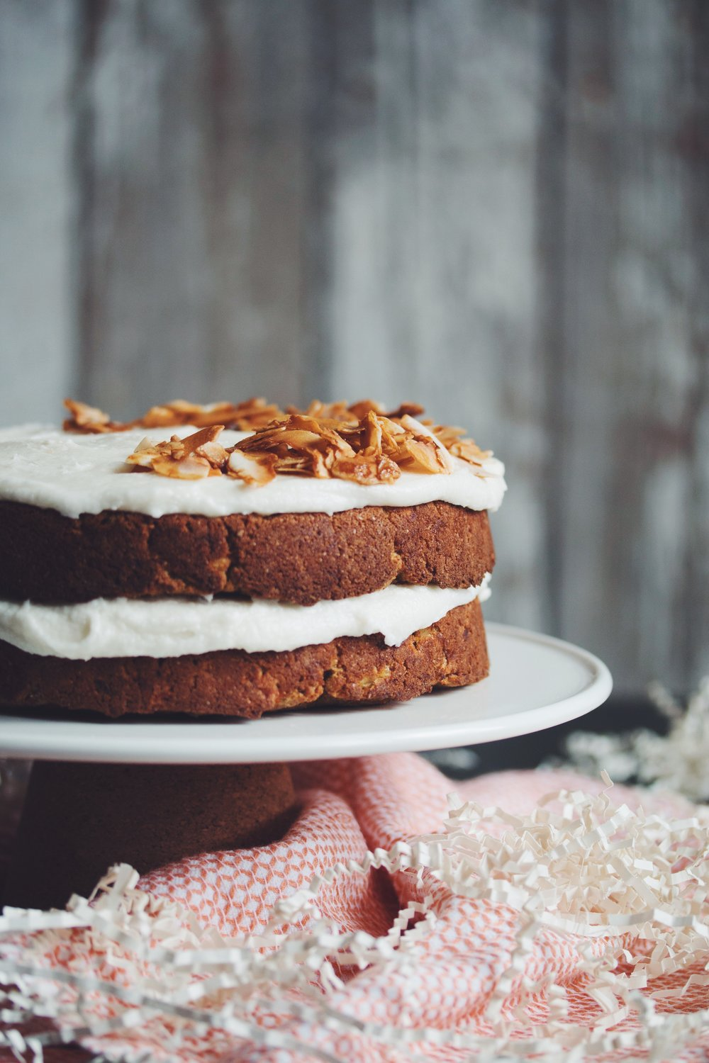 vegan carrot cake | RECIPE by hot for food