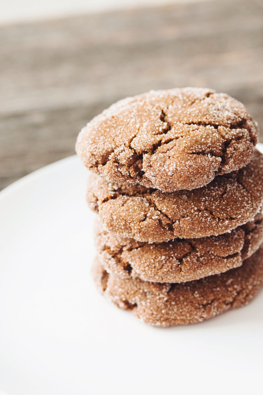 vegan ginger cookies | RECIPE by hot for food