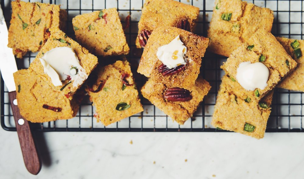 vegan cornbread 3 ways | RECIPE on hotforfoodblog.com