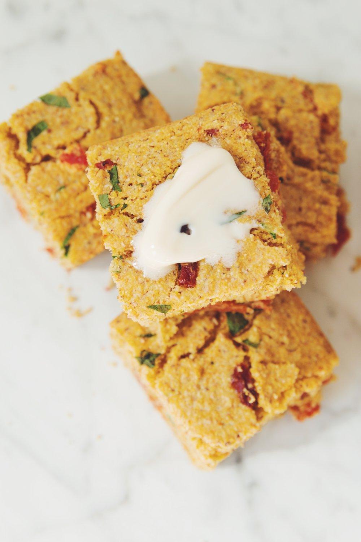 vegan cornbread_hot for food